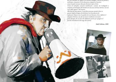 banner mostra Fellini